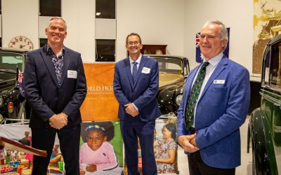 Hundreds to Benefit from Evening at the Sir Henry Royce Foundation Showrooms