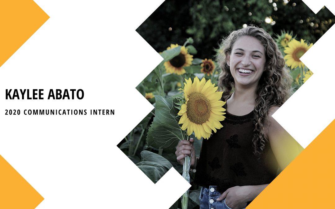 2020 Intern: Kaylee Abato