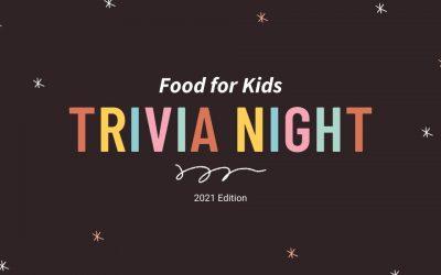 Food For Kids Trivia Night